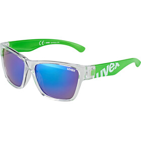 UVEX Sportstyle 508 Sportbrille Kinder clear green/green